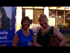 Talking to MLA Joan Isaacs of the BC Liberal Party, and former MLA Alana DeLong (Calgary - Bowness for 14 years).